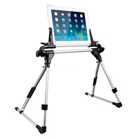 New Universal Portable Tablet Bed Frame Holder Stand for iPad 1 2 3 4 5 air iPhone Samsung Galaxy Tablet PC Stands