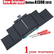 Новый Оригинальный A1494 Аккумулятор для Ноутбука Apple Macbook Pro 15 »дюймовый A1398 (2013 год) ME293 ME294 11.26 В 95WH 8440 МАЧ
