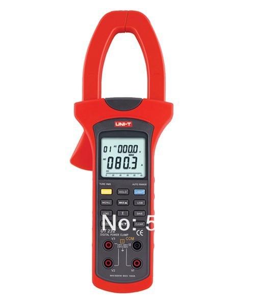UT232 3 phase Power Clamp Meter 1000A 600V Power factor