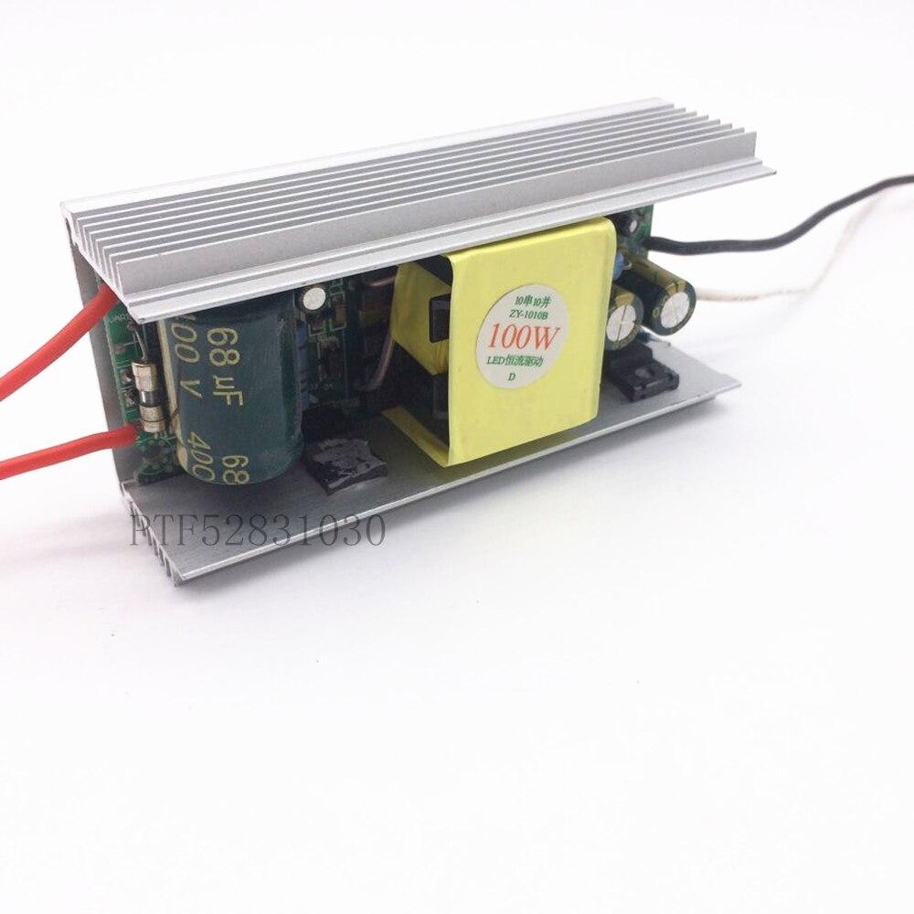 Alta PF 3000mA 100 W DC 30 V-36 V corriente ajustable aislado constat actual controlador led para 100 w LED chip DIY AC 110 V 220 V