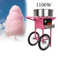 Eléctrica Máquina de Algodón de Azúcar algodón de Azúcar Fabricante de con con el Carro