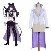Cosplaydiy RWBY Volume 4 Blake Belladonna Cosplay Costume Anime RWBY Belladonna Cosplay Jacket Costume L0516