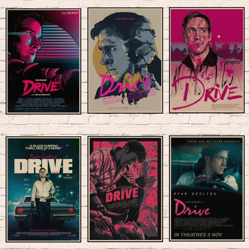 1257 DRIVE RYAN GOSLING Photo Picture Poster Print Art A0 A1 A2 A3 A4