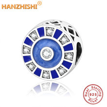 Fits Original Pandora Charm Bracelets DIY Jewelry Making 2019 Summer Collection Authentic 925 Sterling Silver Mosaic Charm Beads authentic 925 sterling silver dazzling elegance clip charm beads fits pandora reflexions bracelets for women jewelry diy making
