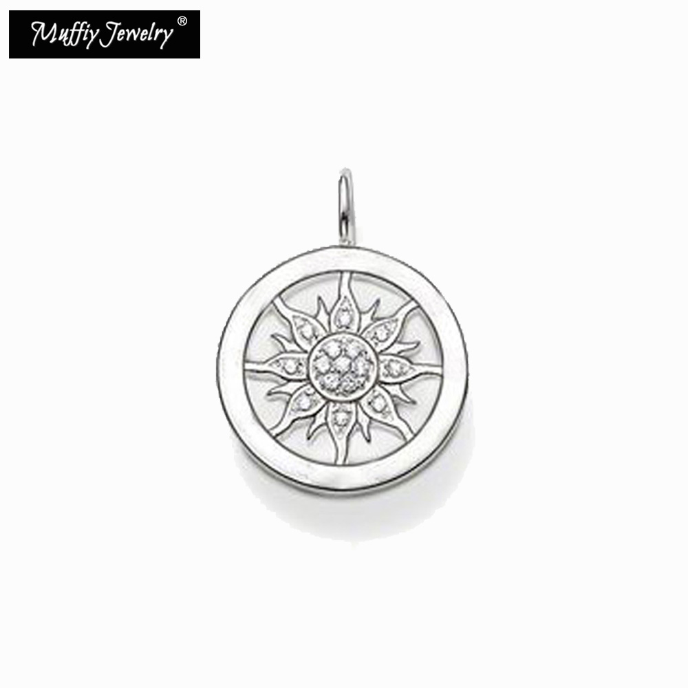 Small Sun Pendant,Thomas Style Glam Fashion Good Jewerly For Women,2017 Ts Gift In 925 Sterling Silver,Super Deals