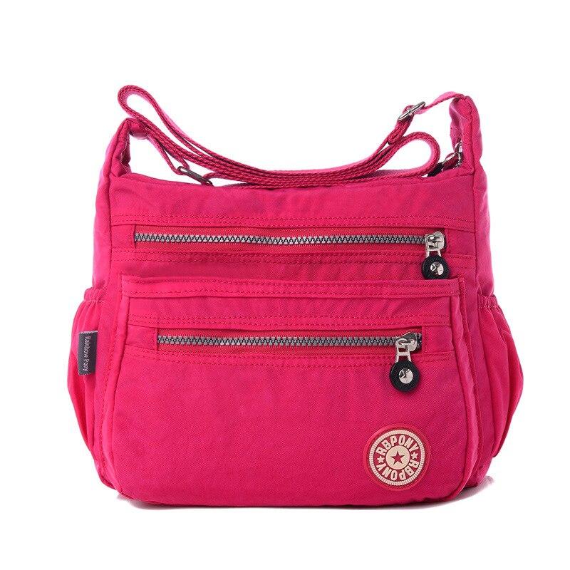 Hot !!!2017 women Messenger bags good quality nylon women bag Quick shipment sho