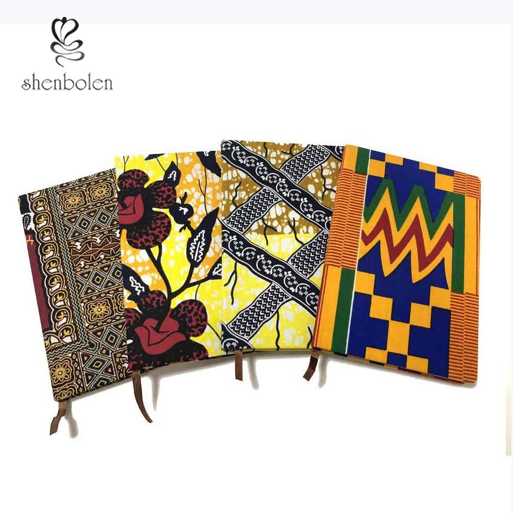 African Ankara Print Notebook High Quality A5 Notebook Office Supplies To-do List WorKing Plan Notebook