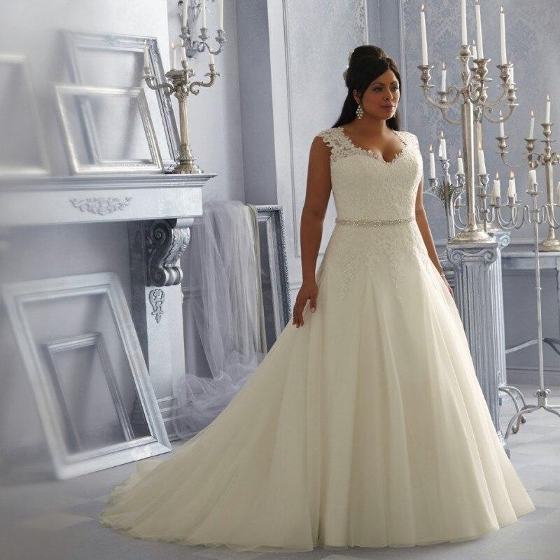 Vestido de casamento plus size wedding dress see through for Wedding dress with see through back