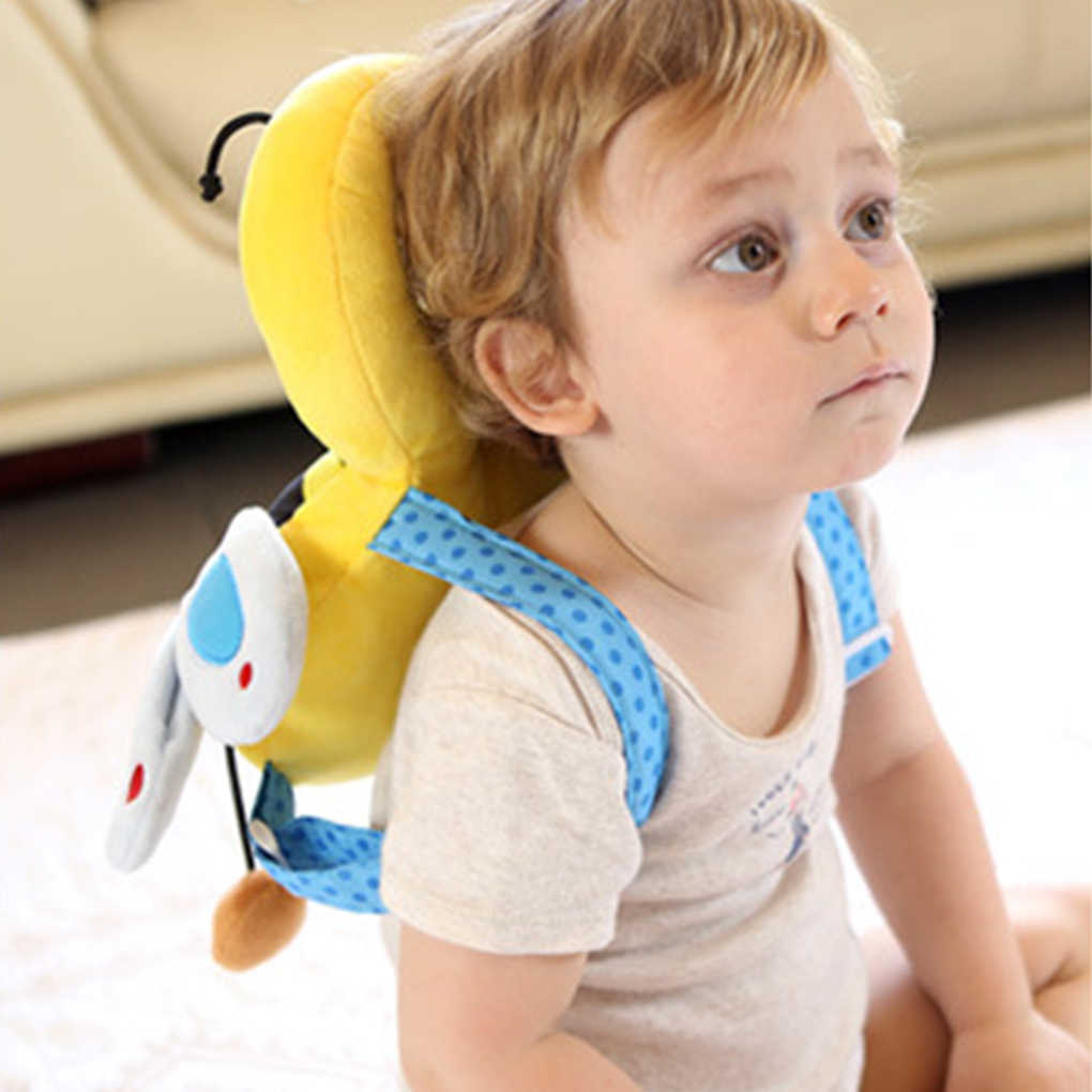 Новая мультяшная милая детская защита головы для малышей предохранительная подушка для головы для младенцев Защита спины предотвращает травмирование новорожденных