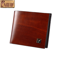 Pabojoe Mens Genuine Leather Wallts Mens Casual Business Credit Cards Money Holder