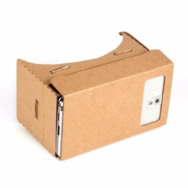 Haute qualité Aimant Google Carton VR Réalité Virtuelle DIY Mobile Téléphone 3D Lunettes De Vision