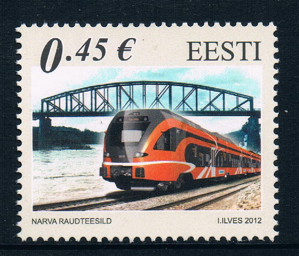 BS0208 Estonia 2012 Baltic countries, the three countries of the 1 new 0111 балансир lj baltic 5