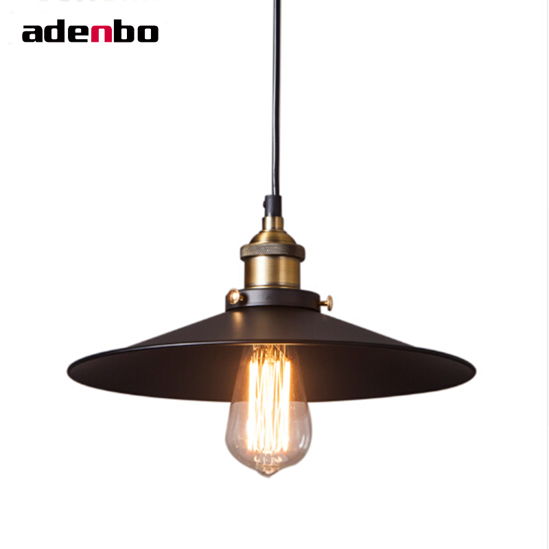 Creative Vintage Pendant Lights Industrial Loft American Retro Lamps Restaurant Dining Room Lamp Bar Counter E27 Holder IP002 loft style vintage pendant lamp iron industrial retro pendant lamps restaurant bar counter hanging chandeliers cafe room