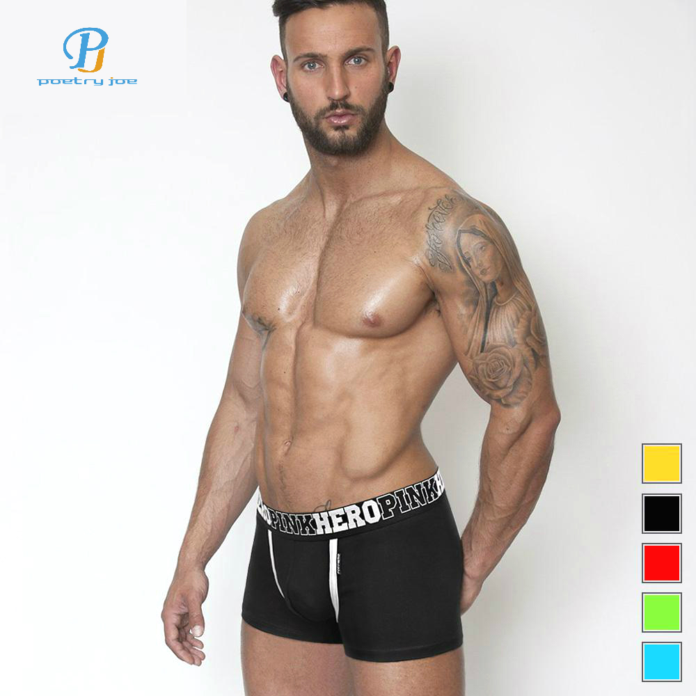 Men's Underwear Pink Hero Men Underwear Boxers Ocean Wind Cotton Sexy Men Boxer Underwear Striped Wave Print Mens Shorts Boxer Panties Cuecas Latest Technology Underwear & Sleepwears