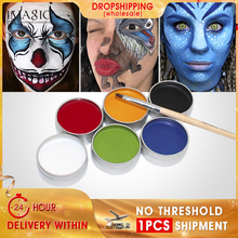 IMAGIC 6 Colors Face Painting Kit Body Makeup Non Toxic Water Paint Oil With Brush For Christmas Halloween Fancy Carnival Party colopaint 8 colors face painting kits parties makeup non toxic paint 8 vibrant colors with brushes for kids face make up