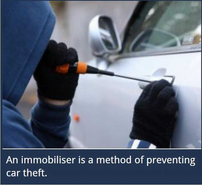 433MHz frequency intelligent car fuel pump lock auto arming car immobilizer  one car alarm security system automatically disarm