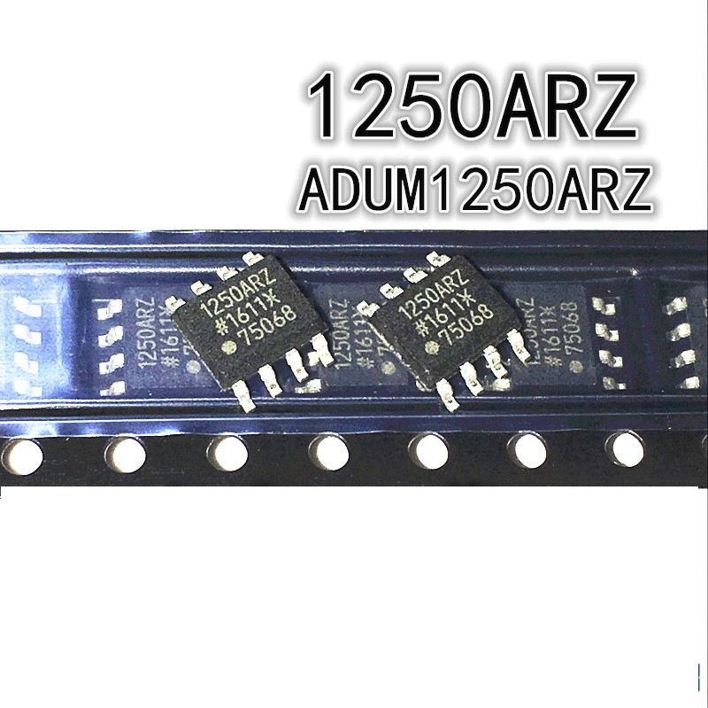5pcs/lot New ADUM1250ARZ SOP-8 ADUM1250 1250ARZ SOP8 Hot Swappable Dual I2C Isolators IC