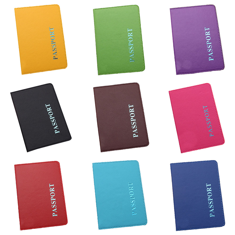Travel Passport Cover Card Case Women Men Travel Credit Card Holder Travel ID Document Passport Holder Bag