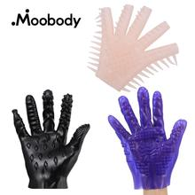Adult Flirting Sex Gloves Vagina/Nipples Stimulator Masturbation Gloves Unisex Bath Massage Gloves Sex Toy For Men Women 3 Types