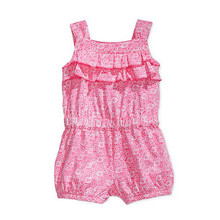High Quality Baby Girl Romper 2016 New Designed Floral Infant Clothing China Factory Direct Summer Rompers Bebe Body Jumpsuits