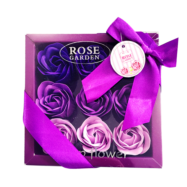 Handmade Rose Soap with Gift Box