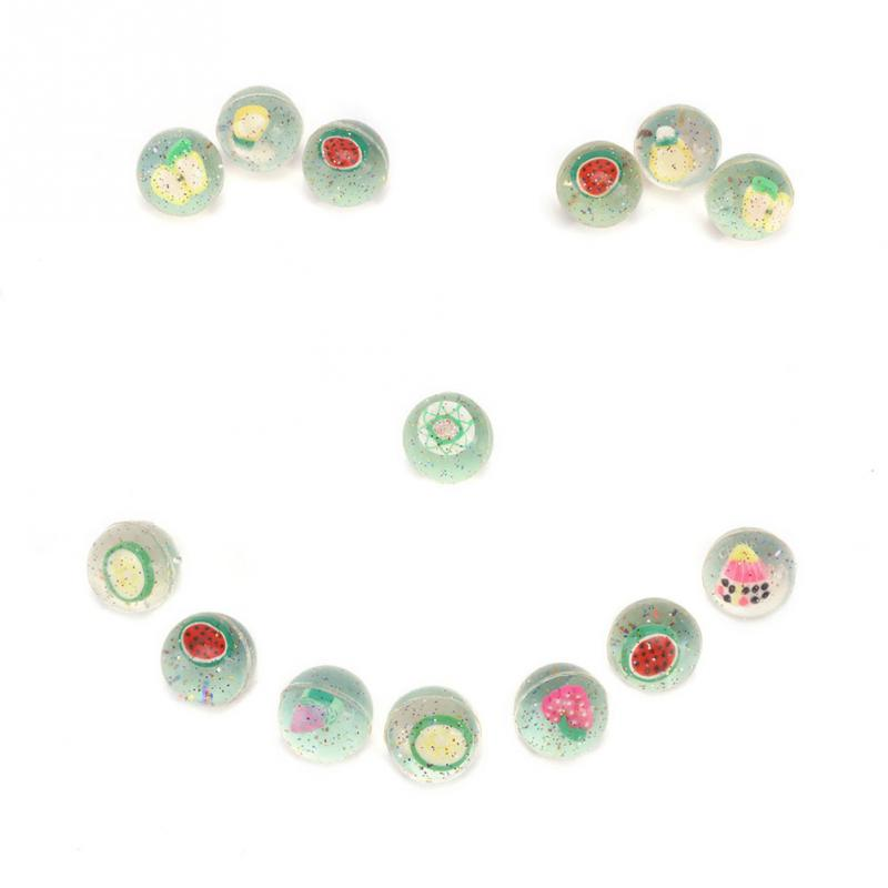 Image 5 - 24 pcs/set Kids Funny Toy Ball Mixed Bouncy Ball Solid Floating Fruits Bouncing Child Elastic Rubber Ball Pinball Bouncy Toys  1-in Toy Balls from Toys & Hobbies
