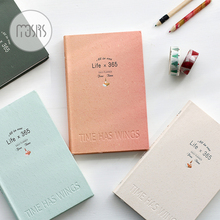 New 365 Day plan Year monthly planner Notebook school Diary 112 sheets paper Graffiti Office School Supplies Gift planner 2017 day monthly krafts notebook diary day planner diary 2017 kawaii journal stationery school supplies 48 inner sheets