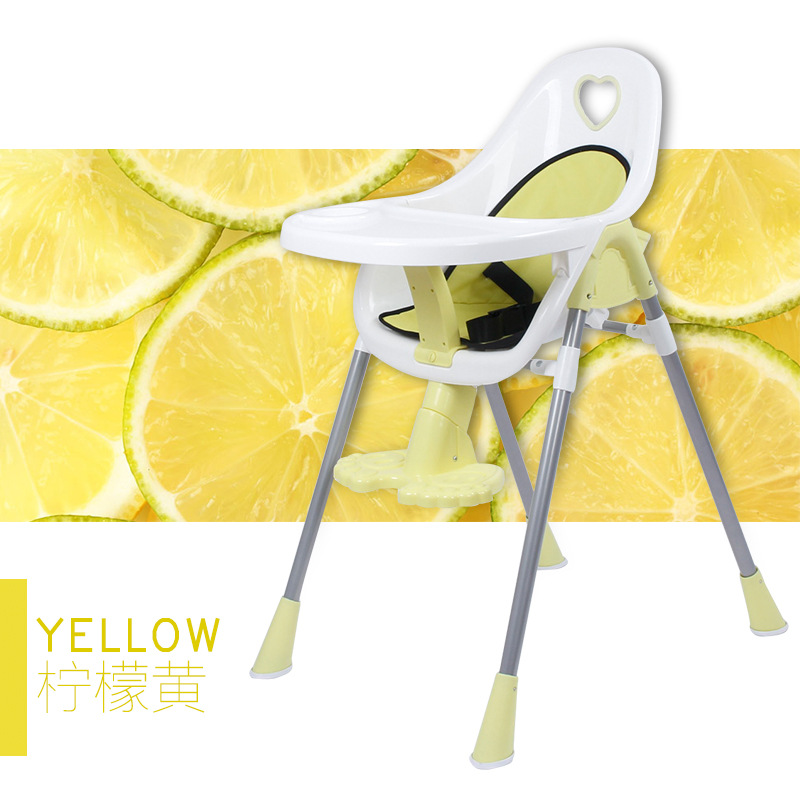 Baby High Chair Baby Highchair Portable Feeding Chair Portable Folding Kids Table and Chair Children Child Eating Dinning Chair children a portable folding chair the baby seat the baby to eat chair baby pu cushion eat desk and chair stool