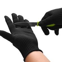 Protective Steel Gloves Cut Resistant Stab Protection Safety Cutting Wear Hunting