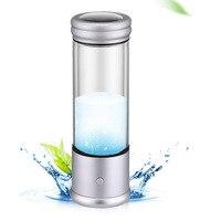 350ML Hydrogen Rich Water Generator Alkaline Water Ionizer Bottle Antioxidant V8 Hydrogen Water Maker Water Filter Pitcher