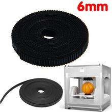 3D Printer Printing GT2 Timing Belt pulley 1M 2M 3M 4M Length 2mm Pitch 6mm Width For Reprap Prusa Mendel(China (Mainland))