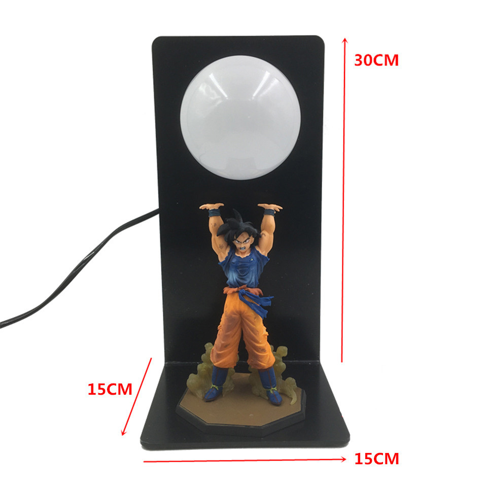 Whole Set Dragon Ball Son Goku Strength Bombs Night Lamp Luminaria Kid Home Decorative LED Table Lights For Cartoon Toy Gift Led