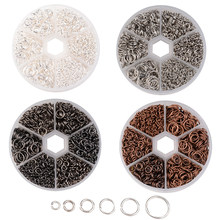 4~10x0.7~1mm Iron Jump Rings Jewelry Making Findings Component Jewel Accessories DIY Close Unsoldered Mix(China)