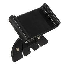 A Estrenar 7 Pulgadas Ranura de CD de Coche Universal Ajustable 88 ~ 136mm Soporte móvil del Sostenedor Del Montaje Para el ipad mini Para Samsung Tablet titular