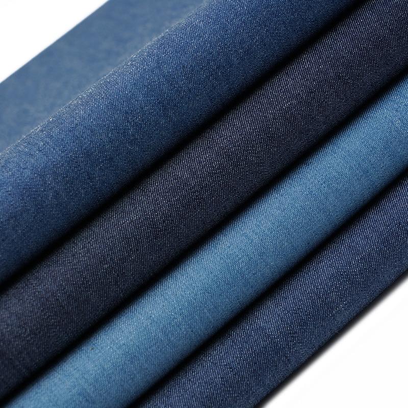 Xintianji Высокое качество джинсовая ткань с рисунком тонкий хлопок джинсовая ткань для джинсов платье из джинсовой ткани и Кепки 45*145 см/шт. TJ4512