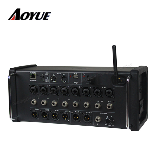 40 Bit Digital Effect R16 Built In Mode Wifi Router APP Audio Mixer