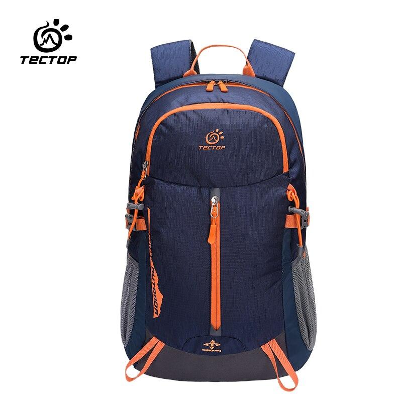 Tectop 30l mochila de viaje de camping senderismo a prueba de agua hombres mujer