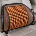 2017 Detector de Coches Seat Soporta Asiento Del Talón de Madera de Lujo Volver Soporte Lumbar Cojín Para Silla de Oficina Coche Almohada Masajeador
