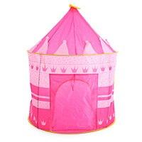 3 Couleurs Jouer Tente Portable Pliable Tipi Prince Tente Pliante enfants Garçon Château Cubby Play Maison Enfants Cadeaux En Plein Air Jouet tentes
