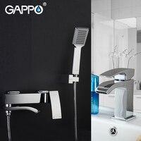 GAPPO Смесители бассейна ванной кран водопад краны смесители для ванной Душ водопад смеситель