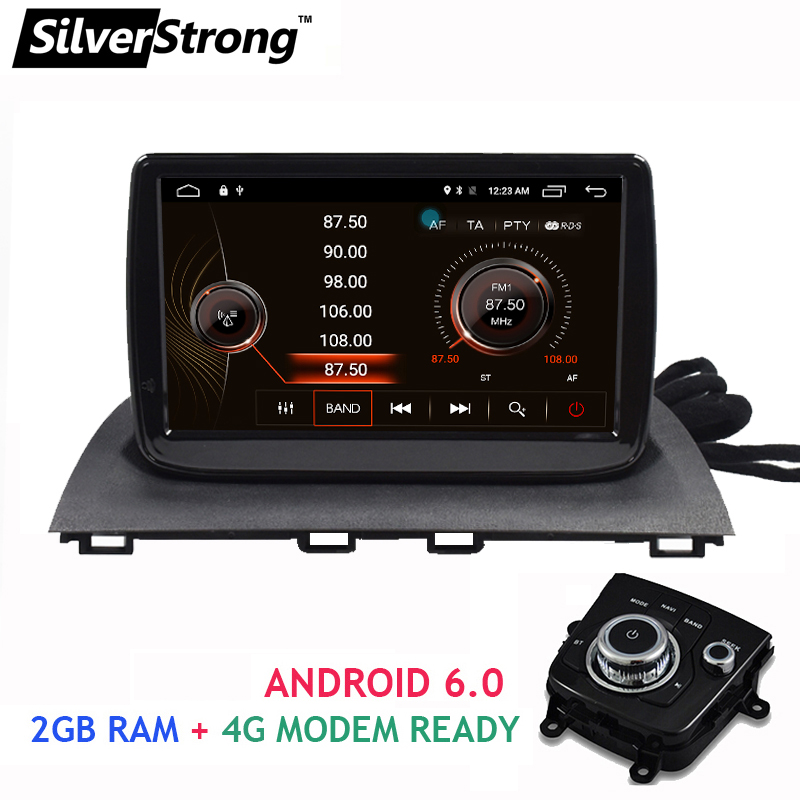 buy new android 6 0 2gb ram car gps navigation for mazda3 axela car stereo for. Black Bedroom Furniture Sets. Home Design Ideas