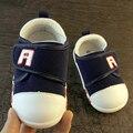 Sapatinhos de bebê de Lona Primeiros Caminhantes Suaves Sapatos de Bebê Únicos Sapatos Mocassim Infatil de Treinamento Sapatos Para Crianças Da Criança Do Bebê 603124