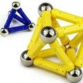 Горячая распродажа детский интеллект игрушки развивающие игрушки магнитная палочка мяч собрать модель игры любимый подарок 42 шт. комплект бесплатная доставка
