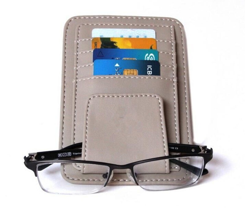 Grey Color Sunglasses, ID, Credit Card  Holder Clips Bags