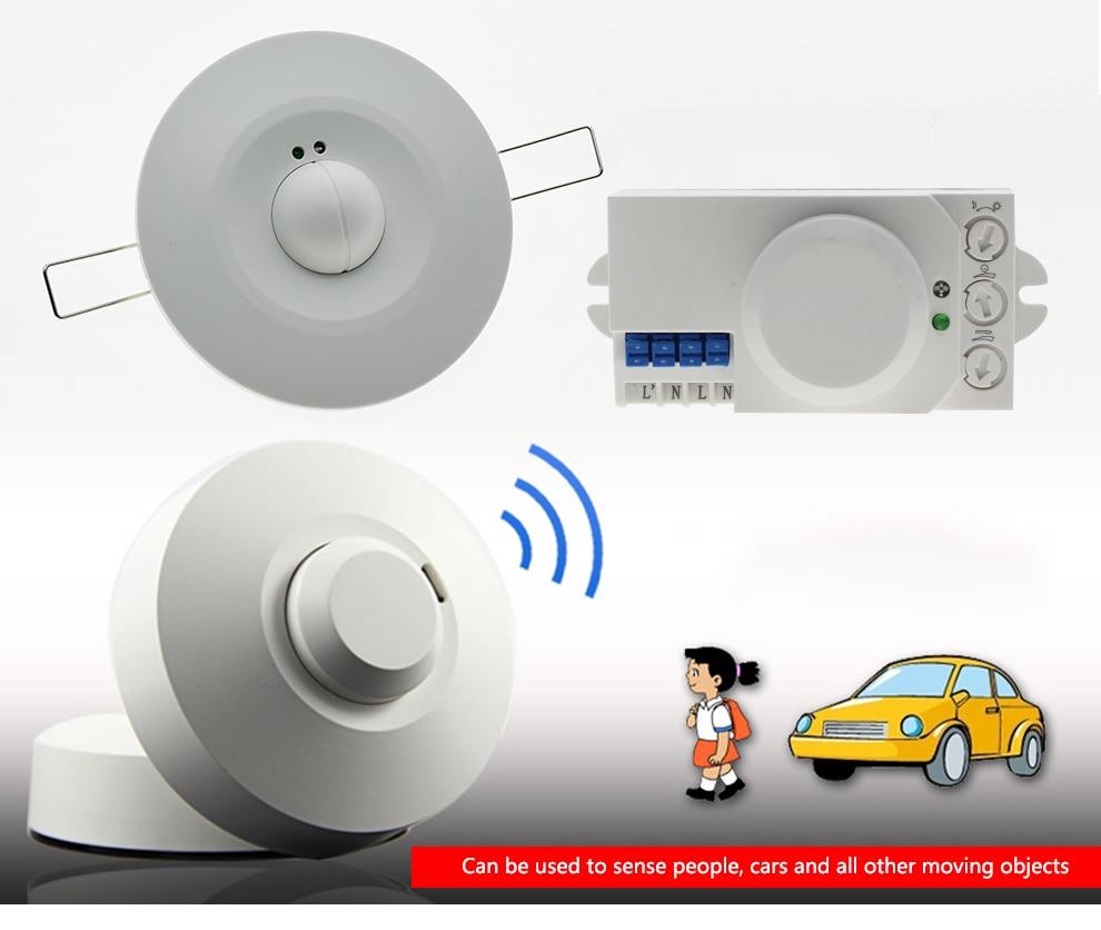 Microwave Sensor Radar Smart Light Switch (11)