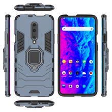 For One plus 7 Pro Armor Case With Finger Ring Kickstand Shockproof Dual Layer Hard Back Cover case