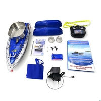 Flytec 2011 3 RC Boat Intelligent Wireless Electric Fishing Bait Remote Control Fish Ship Searchlight Toys