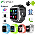 VOLTOPE Smart Watch A1 Bluetooth Wearable Devices relogio Sport Pedometer With SIM Camera Smartwatch For Android iPhone
