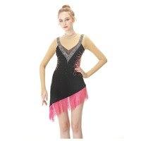 BHZW Custom Figure Skating Dress Graceful New Brand Figure Skating Dress For Competition