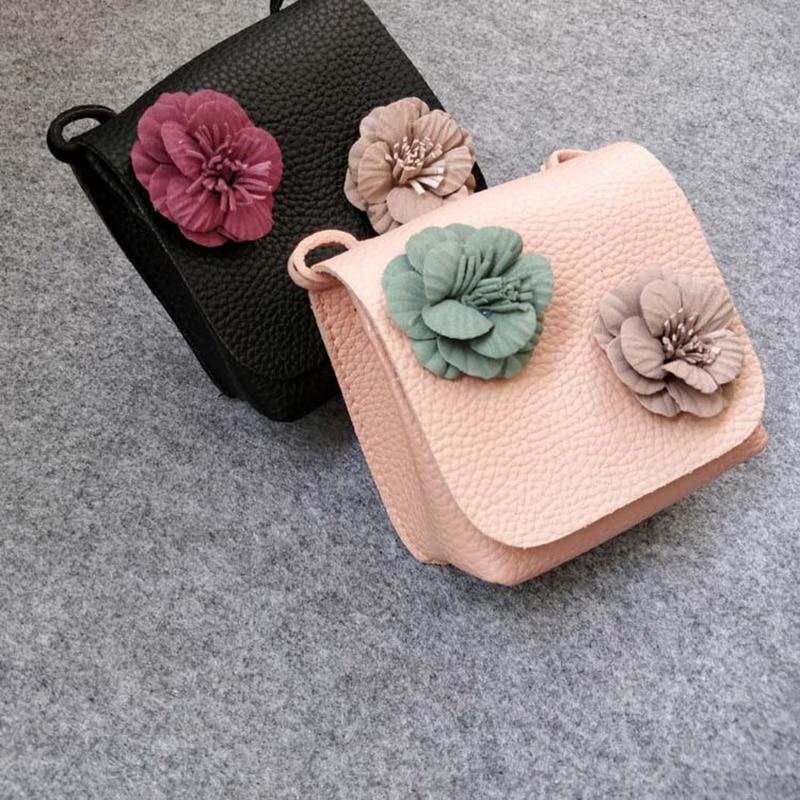 Raged Sheep Girls Small Coin Purse Change Wallet Kids PU Bag Coin Pouch Children's Wallet Money Holder Children Flower Bag